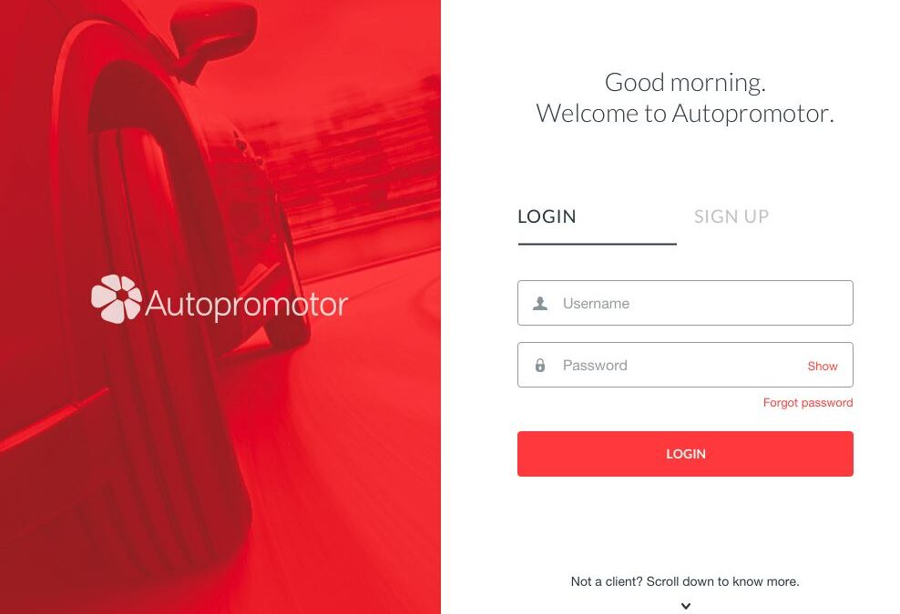 VIDEO: Take a sneak peek at the new Autopromotor